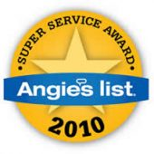 Angie's List Super Service Award 2010