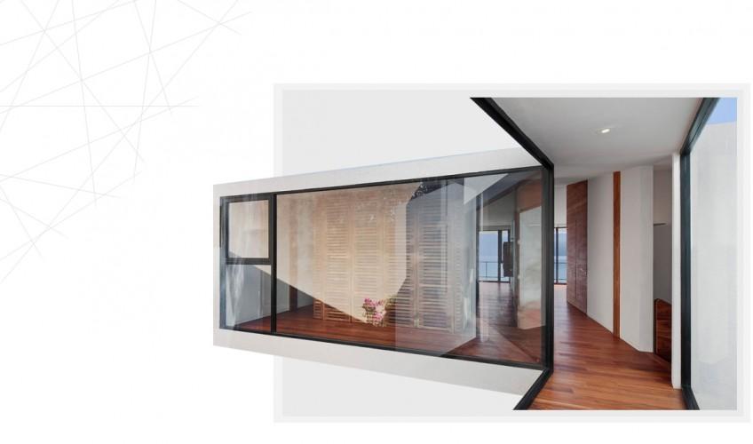 glass picture windows corner installation germantown md