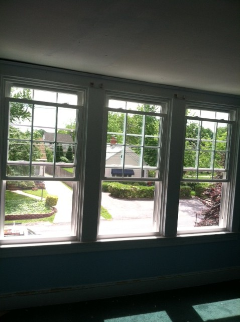 triple window replacement
