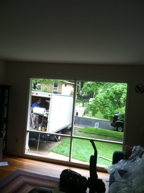 inside view of new picture window