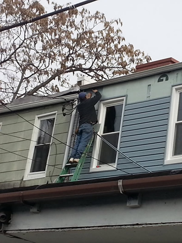 outdoor siding replacement Baltimore area