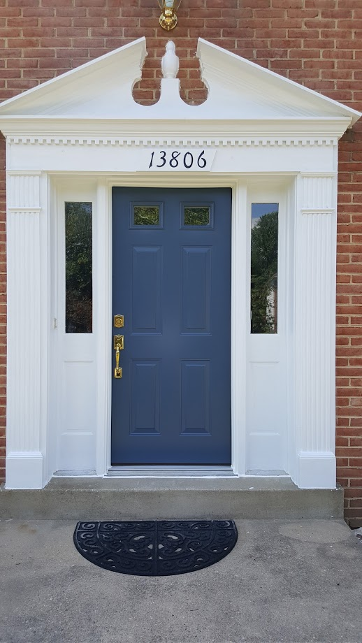 front and exterior door replacement service