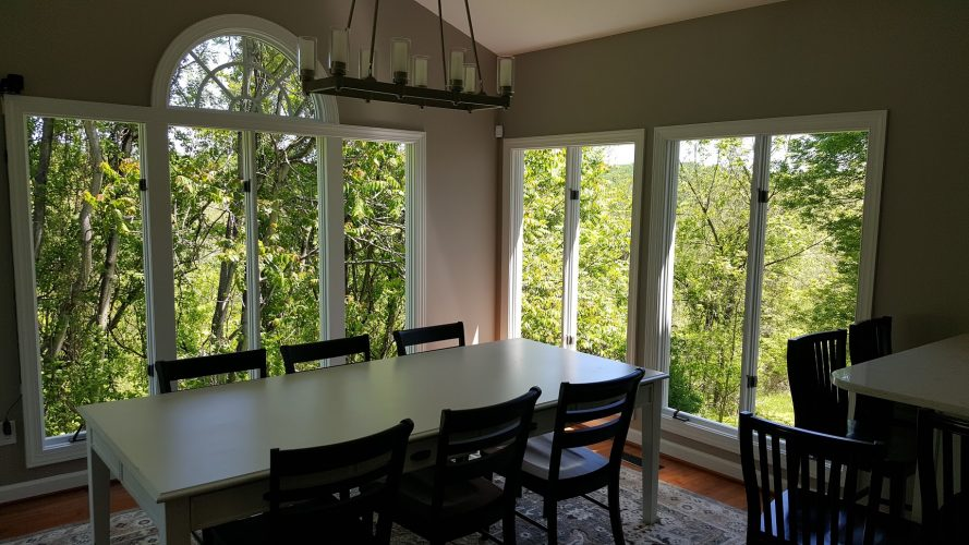 new dining room windows installation baltimore md